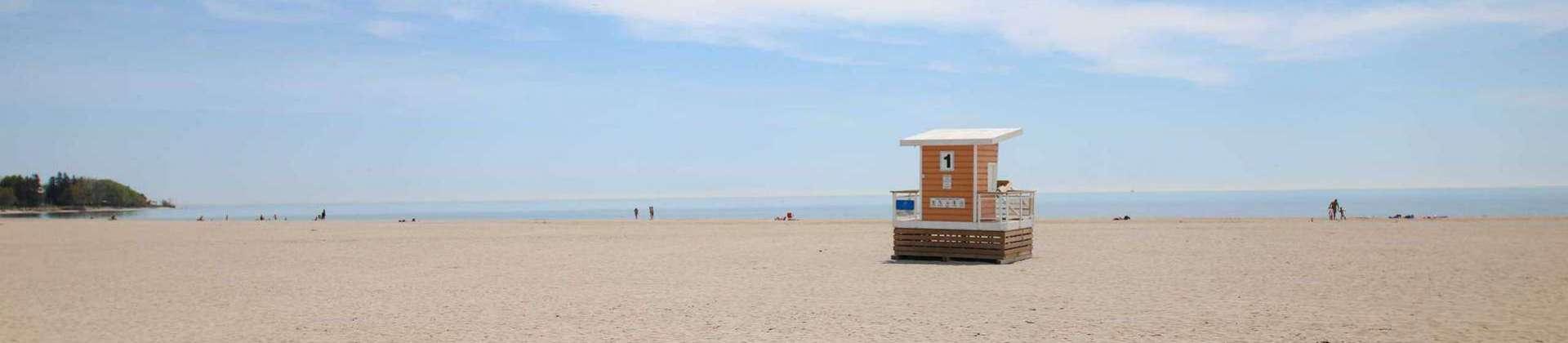 Cobourg Ontario beach
