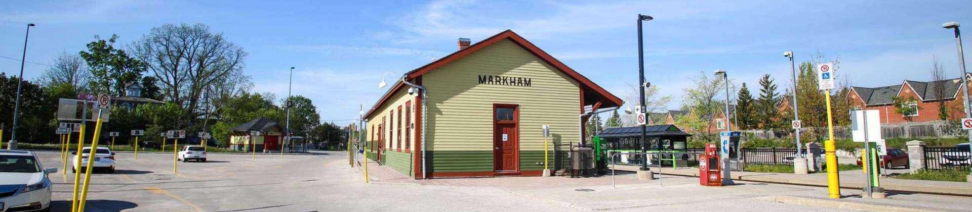 Markham Ontario train station
